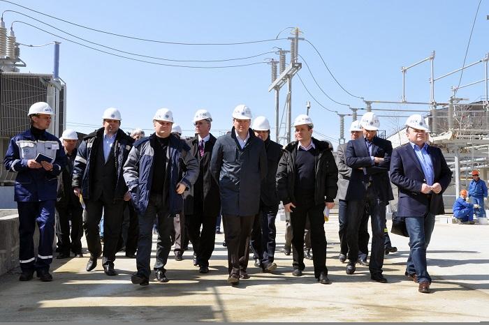 строительство олимпийских энергообъектов